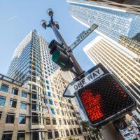 no-way-sign-on-traffic-light-pole-in-the-city-picjumbo-com